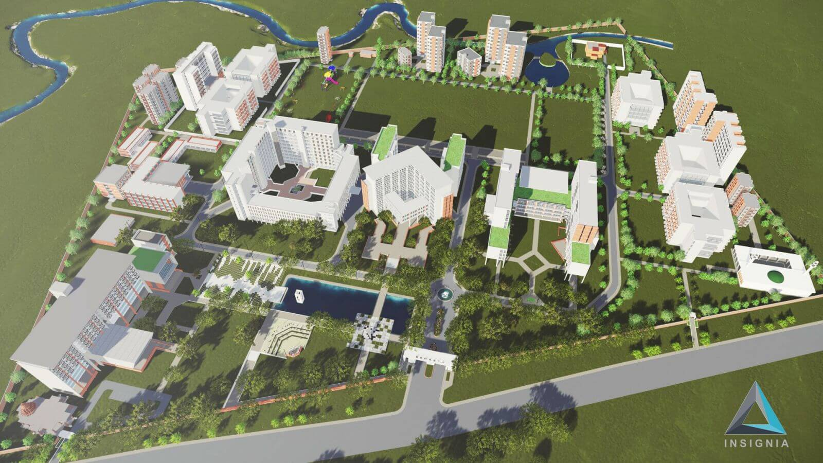BSMRSTU Masterplan and Mural Complex